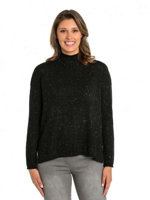 Marco Polo Flecked Sweater YTMW93120-Marco Polo-Weekends