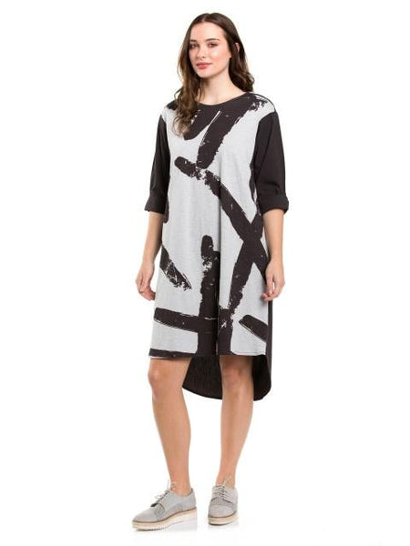 Marco Polo Nickel Brush Dress YTMS99031-Marco Polo-Weekends