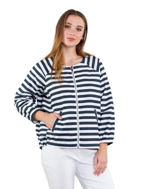 Marco Polo Summer Stripe Jacket YTMS96006-Marco Polo-Weekends