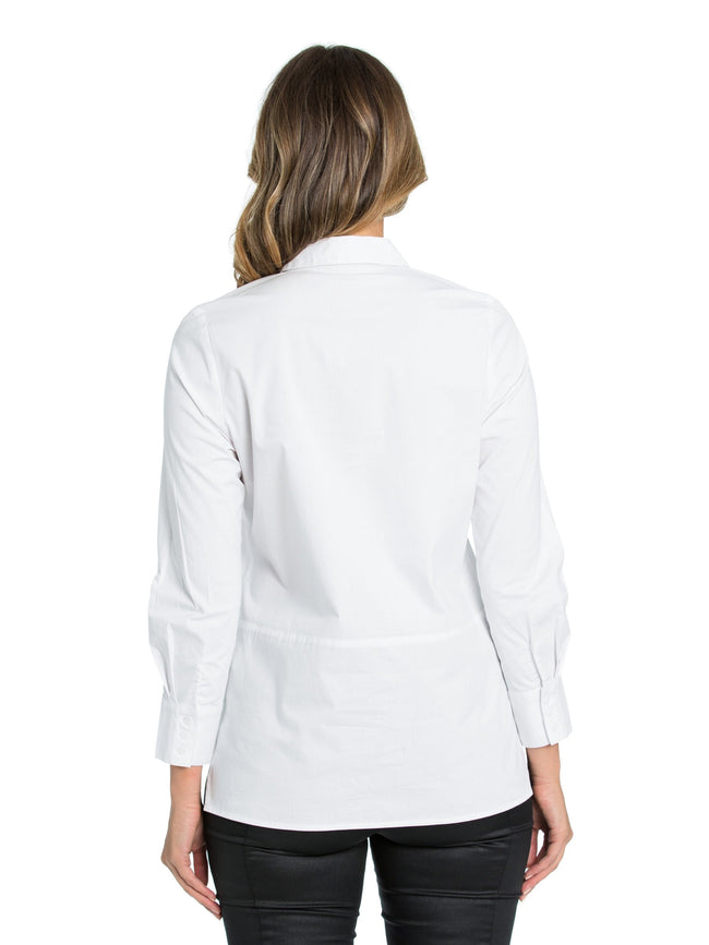 Marco Polo White Classic Shirt YTMW94149-Marco Polo-Weekends