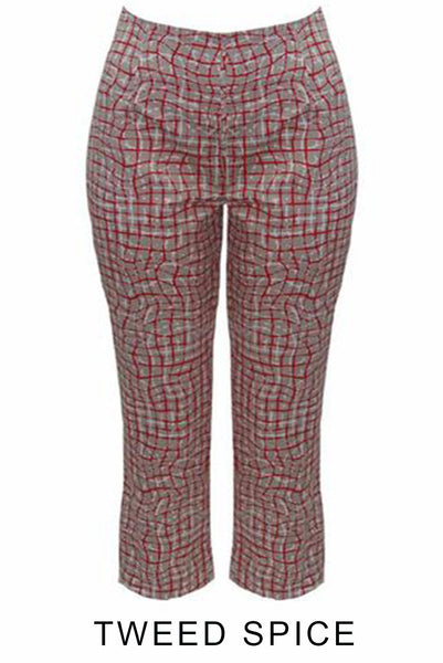 M.E.L. Spice Arrow print Cajun pants-Mel Australia-Weekends