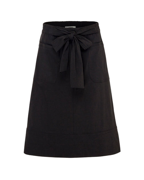 MELA PURDIE Tie Skirt - F65 5646-Mela Select-Weekends