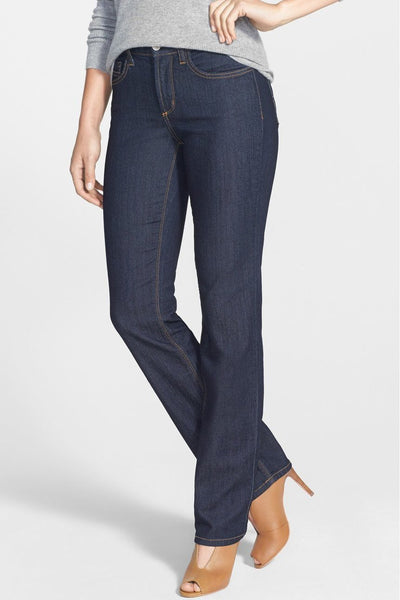 NYDJ Marilyn Straight Jean - Dark Enzyme M10K43B433-NYDJ-Weekends
