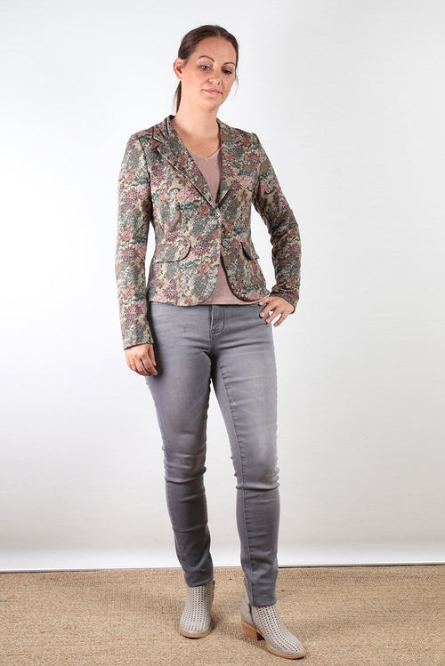 Pako Litto Print Jacket Floral Print BL1690-Pako Litto-Weekends