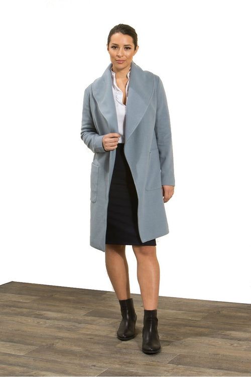 Privilege Shawl Lapel Coat-Privilege-Weekends