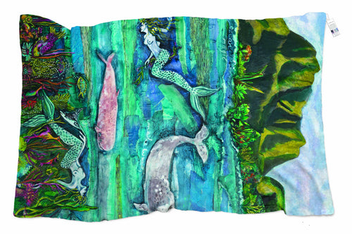 The Artists Label Ocean Dance Scarf by Caleena Edkins APR1946-The Artists Label-Weekends