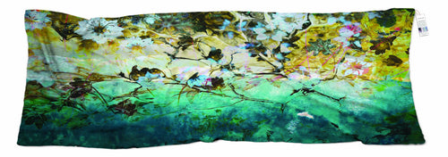 The Artists Label Water Flowers Wool Scarf by Ana Nesimovski APR2021-The Artists Label-Weekends