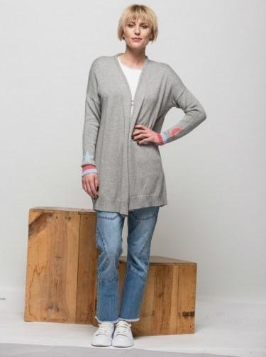 Weekend Z&P Star and Moon Cardi Flannel-Z&P-Weekends