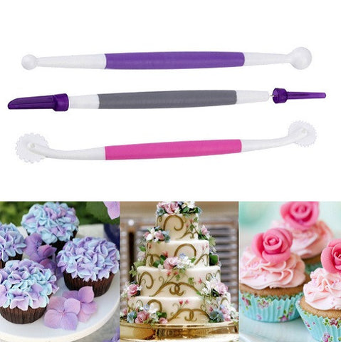 3Pcs Set Cake Sculpture Tool