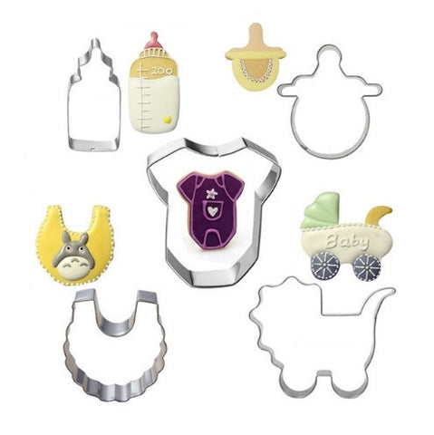 5Pcs Baby Care Set Cookie Cutters