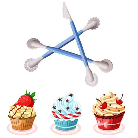 3Pcs Sugarcraft Cake Decorating Pen