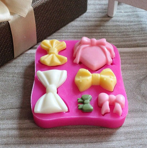 3D Bow Silicone Baking Mold