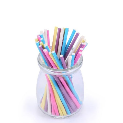Mixed Colorful Pop Sticks for Lollipop Candy