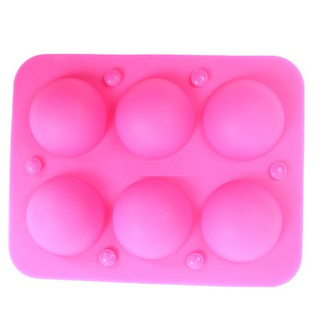 6 Holes Silicone Lollipop Mold