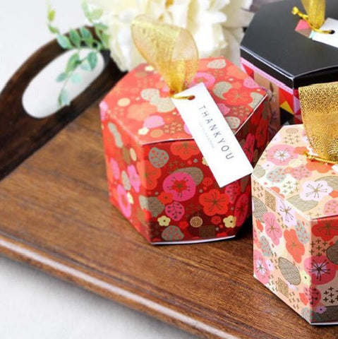 6 Angles Floral Cherry Gift Box
