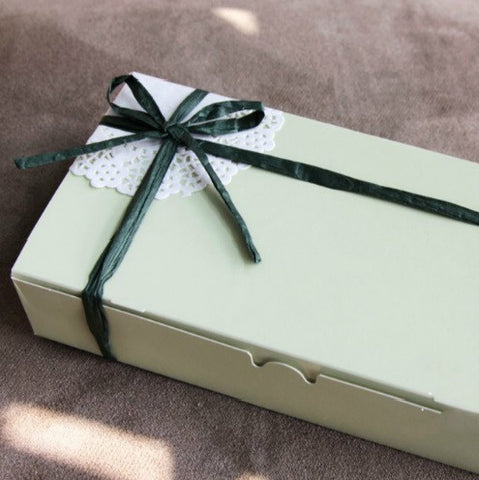 Tea Green Cake Biscuit Box