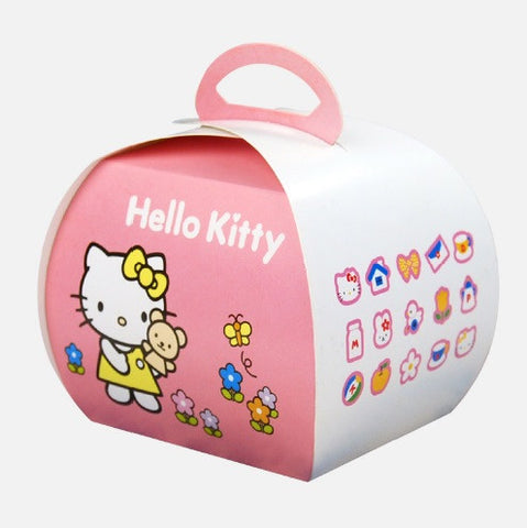 Hello Kitty Handheld Muffin Mousse Cake Box