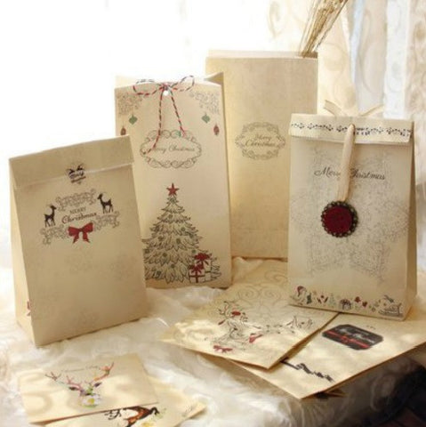 Christmas Series Gift Packaging Paper Bag