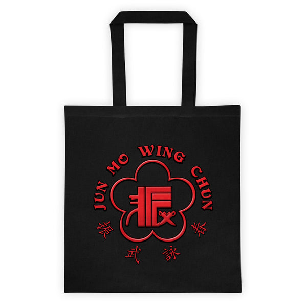 Jun Mo Wing Chun Logo Tote bag