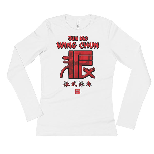 Jun Mo Wing Chun Ladies Long Sleeve T Swords