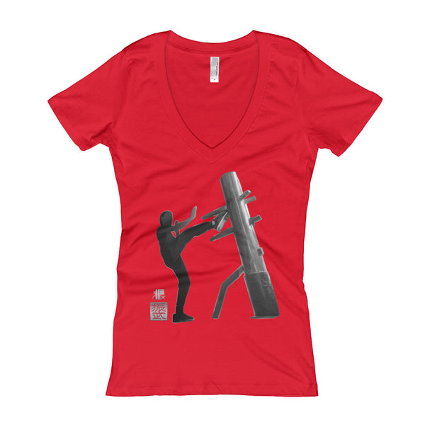 JM Wing Chun Women's V-Neck T-shirt