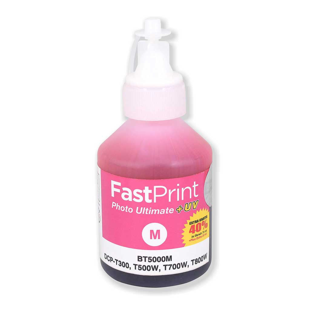 Fast Print Brother Photo Ultimate Plus Uv Magenta 100 Ml Daftar Light 70ml Epson Khusus L Series 6 Warna L800 L850 L1800 Tinta