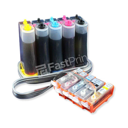 CISS Infus Modifikasi Canon IP4970, IP4870, IP6550, IX6500, IX6560, MG5170, MG5270, MX886 Plus Tinta