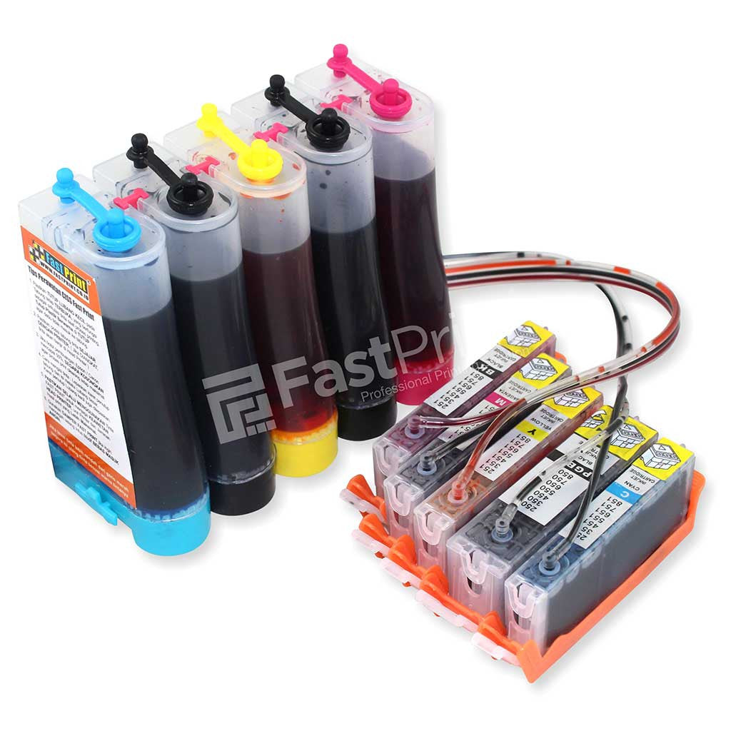 CISS Infus Modifikasi Canon MG5470, MX727, MX927, IP7270 Plus Tinta