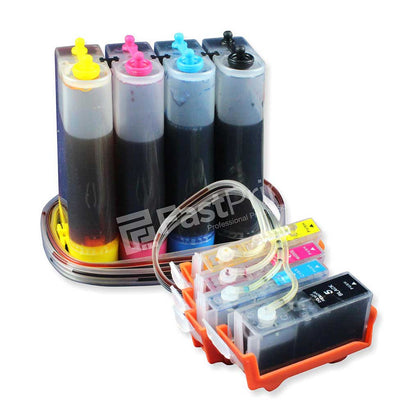 CISS Infus Modifikasi Canon IX4000, IX5000, MX700, IP3500 Plus Tinta