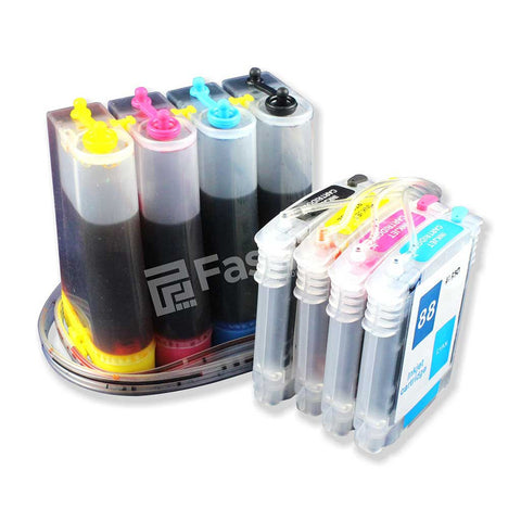 CISS Infus Modifikasi HP OfficeJet Pro K550, K500, K5300, K5400, L7380, L7480, L7580 Plus Tinta