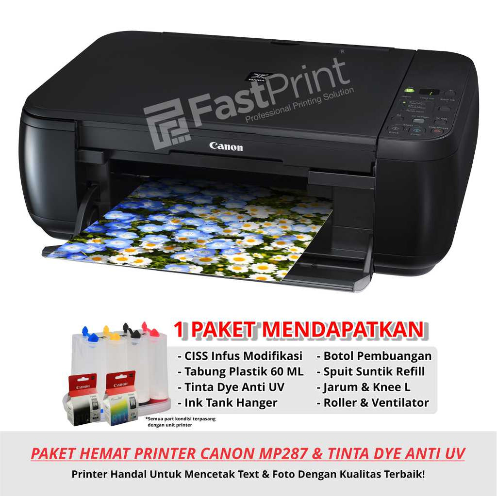 Paket Printer Modifikasi Canon MP287