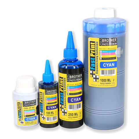 Tinta Dye Based Photo Premium Brother Cyan