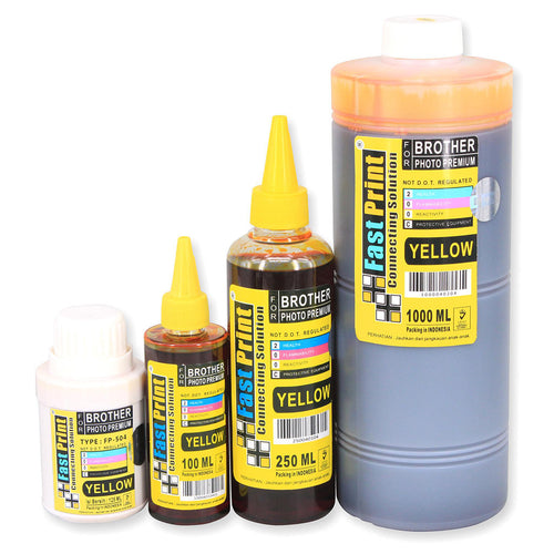Tinta Dye Based Photo Premium Brother Yellow
