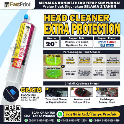 Head Cleaner Extra Protection