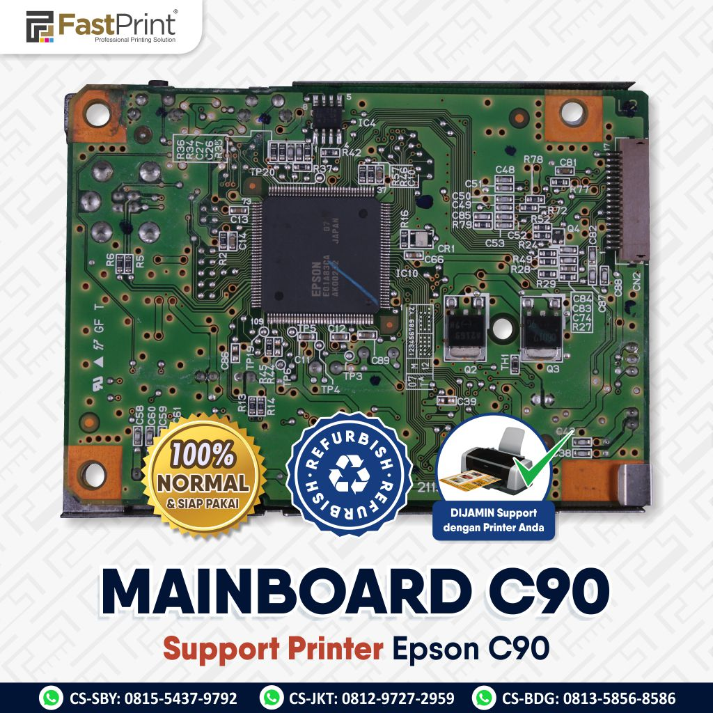 Mainboard Board Printer Epson C90