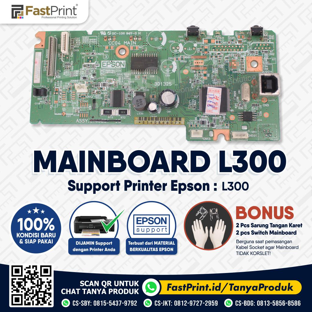 Mainboard Board Printer Epson L300