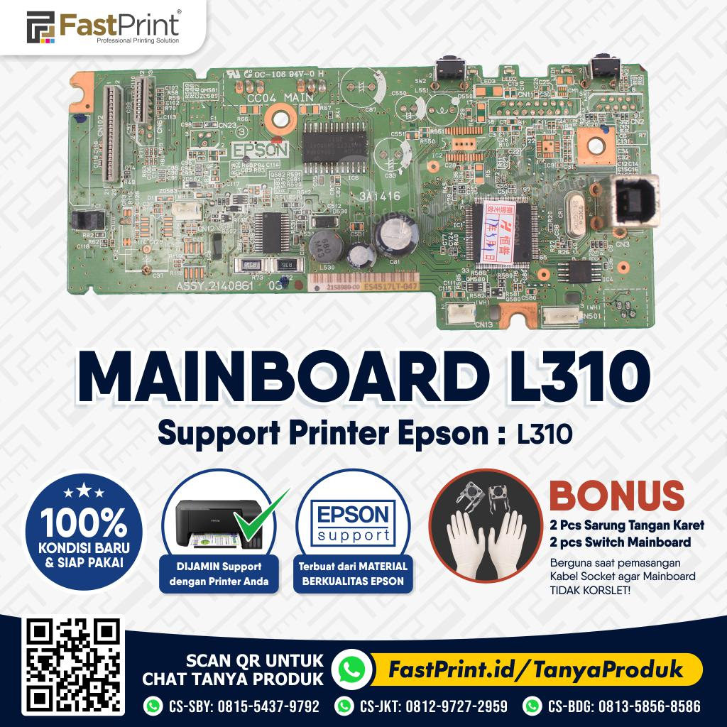 Mainboard Board Printer Epson L310