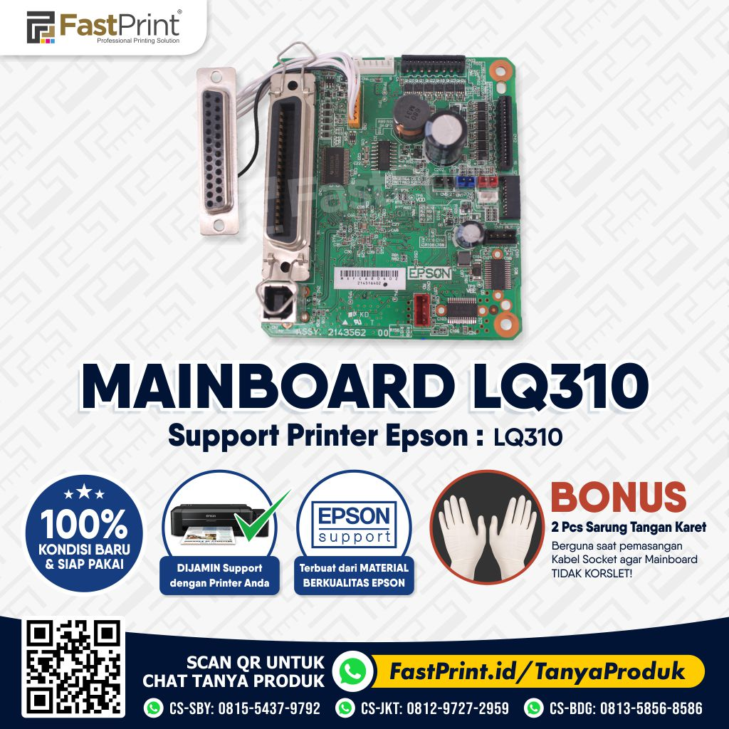 Mainboard Board Printer Epson LQ310