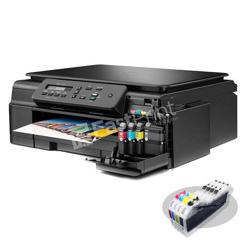 Paket Printer Modifikasi Brother MFC J200 WiFi All in One Printer