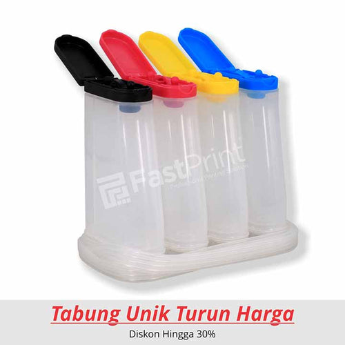 Tabung (Ink Tank) Model Extra Tutup Warna 80 ML