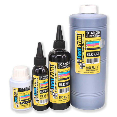 Tinta Dye Based Photo Premium Canon IX7000 Black Kecil