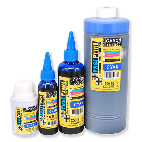 Tinta Dye Based Photo Premium Canon IX7000 Cyan