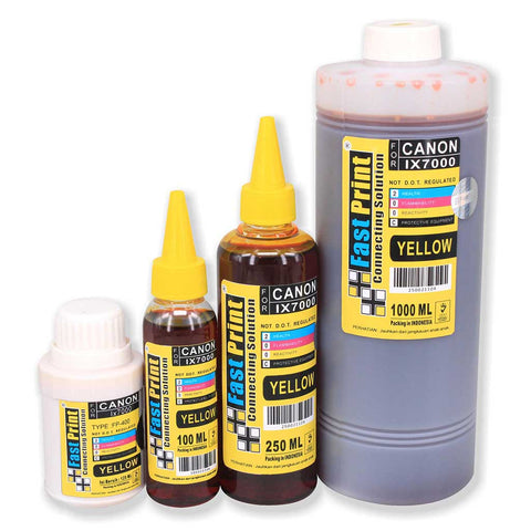 Tinta Dye Based Photo Premium Canon IX7000 Yellow