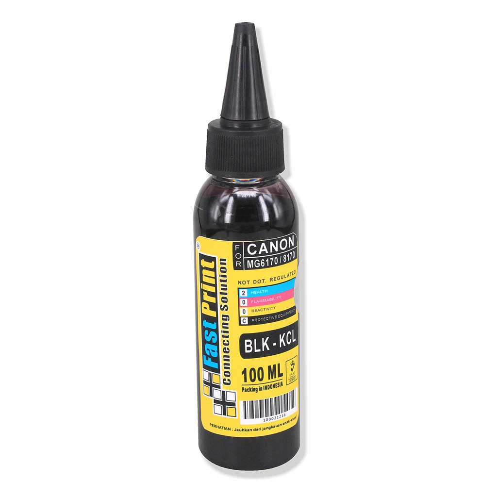 Tinta Dye Based Photo Premium Canon MG6170 MG8170 Black Kecil