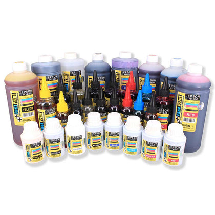 Tinta Dye Based Photo Premium Epson R1800 1 Set 8 Warna