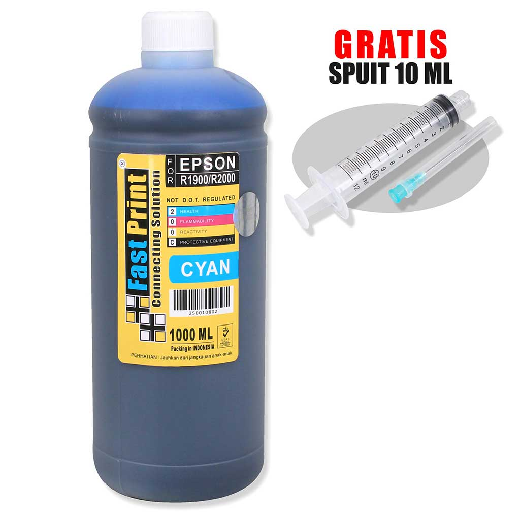 Tinta Dye Based Photo Premium Epson R1900 R2000 1000 ML 1000ML