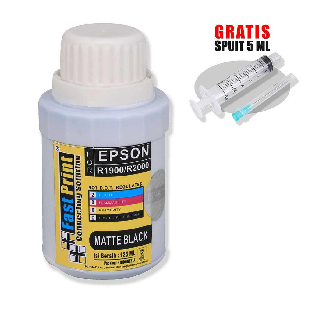 Tinta Dye Based Photo Premium Epson R1900 R2000 Matte Black