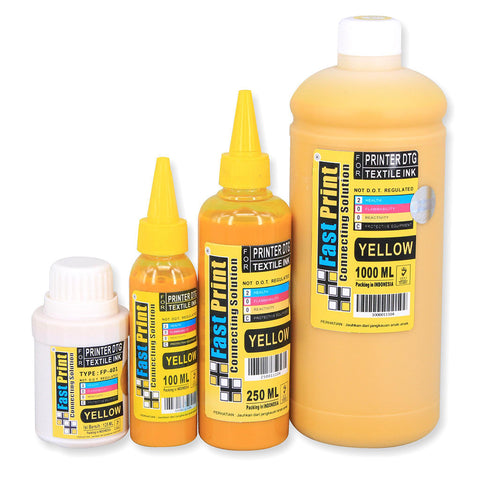 Tinta Textile Printer DTG Yellow