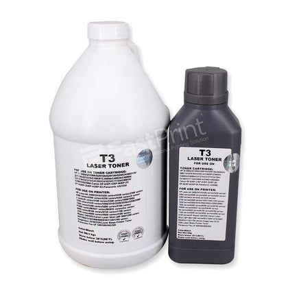 Serbuk Refill Toner T3 Printer HP, Canon, Panasonic Series