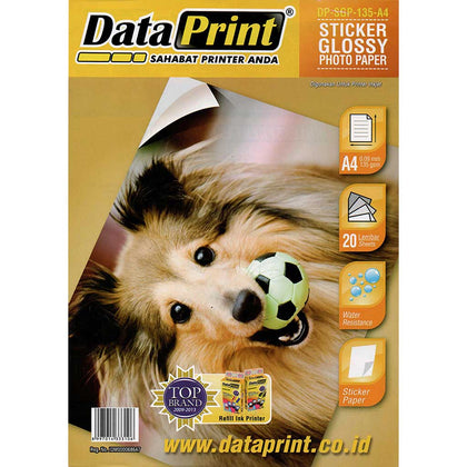 Kertas Stiker Glossy Photo Paper Data Print A4 135 Gram